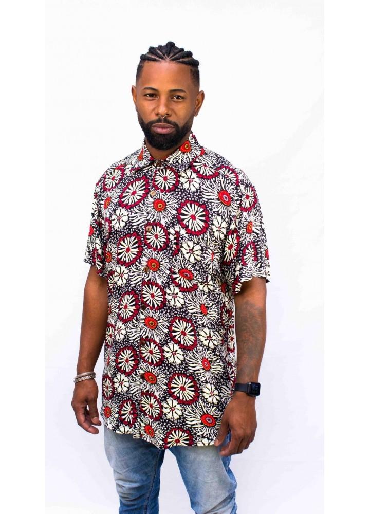 Camisa Estampada Mandala – Collab
