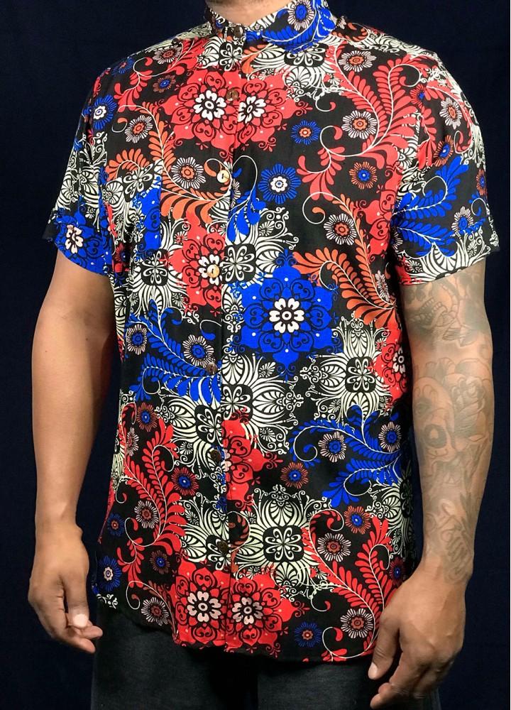 Camisa Estampada Indía – Collab